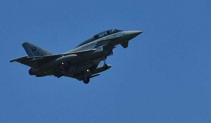 Arab Coalition fighter jet crashed in Assir Region, pilots escaped to safety: Coalition Forces Spokesman