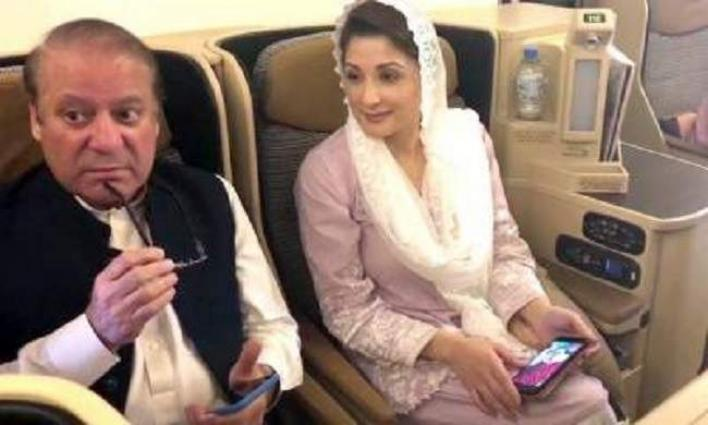 Accountability Court issues imprisonment warrants against Nawaz Sharif, Maryam Nawaz