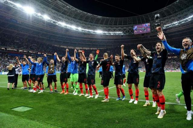 France play Croatia in the World Cup final at Moscow's Luzhniki Stadium