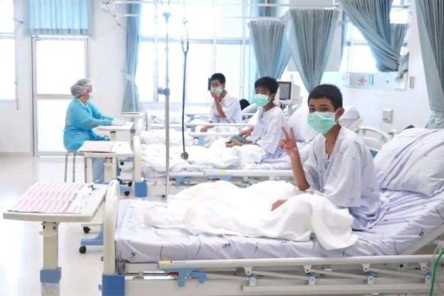 Rescued Thai cave boys to leave hospital Thursday