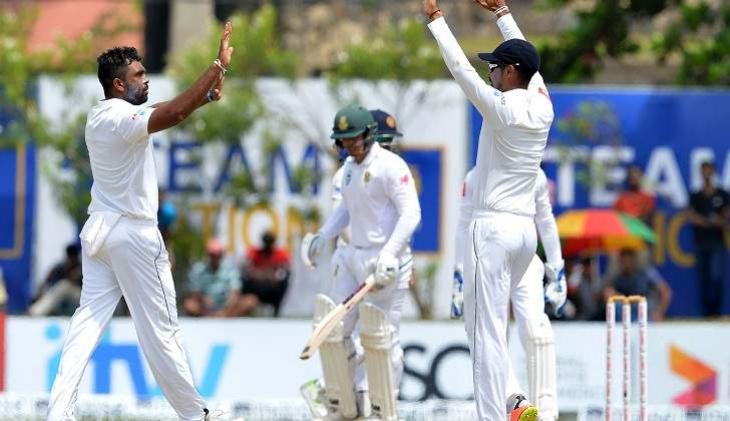 Sri Lanka beat South Africa by 278 runs in 1st Test