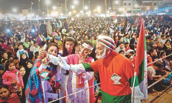 Trend of preparing party songs turns election into a festivity