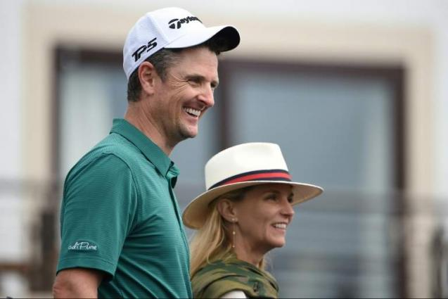 The Open: Justin Rose matches Carnoustie-record 64 on Moving Day