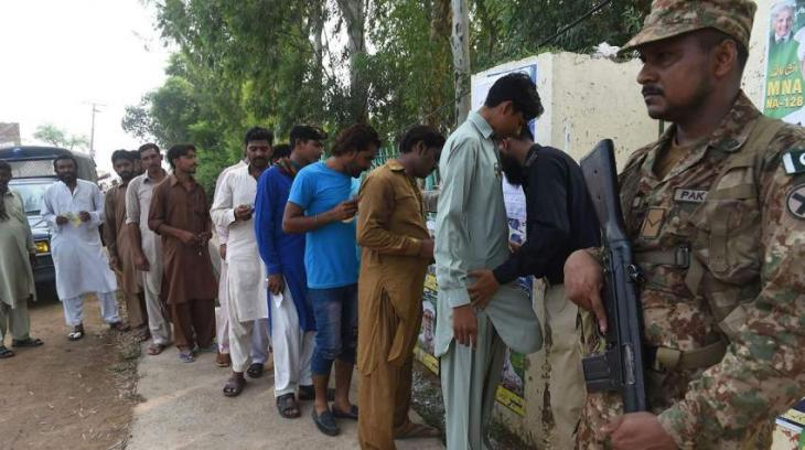 Countrywide smooth polling in progress amid tight security