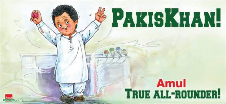 Amul India pays tribute to Pakistani all-rounder and PM-to-be Imran Khan