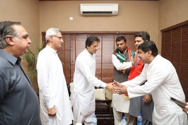 Khurram Laghari And Basit Bukhari Joins PTI - UrduPoint