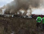 Passenger plane crashes on take off in northern Mexico
