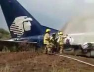 Passenger plane crashes on take off in northern Mexico, airline s ..