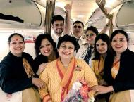Pilot daughter bids farewell to air hostess mother, fulfills her  ..
