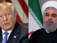 Trump predicts Iran talks 'pretty soon'