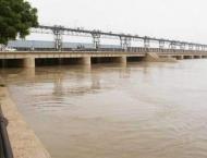 River Kabul still run in low flood