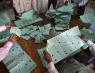 Votes recounting continues in constituencies