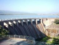 Spillways of Rawal Dam opened as water level rises