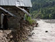 Heavy rains, floods cause two deaths, eleven houses damaged in AJ ..