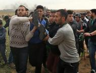 Palestinian killed in Israeli shelling: ministry