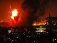 Wave of Israeli strikes hit Gaza after rocket barrage, toddler ki ..