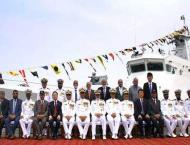 Commissioning ceremony of PMSA vessel held at Karachi Shipyard