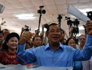 Cambodia PM Facebook hacked to 'give away parliament seats'