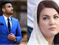 Zaid Ali hits back at Reham Khan for playing 'female card'