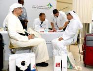 Dubai Health Authority conducts medical check-ups at Dubai Intern ..