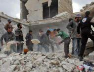 Some 59 Syrians Including 17 Children Killed in Syrias Idlib on S ..