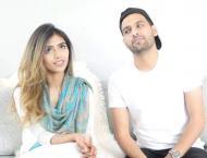 Zaid Ali celebrates first anniversary with wife