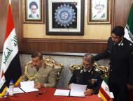 Iran, Iraq Sign Agreement on Border Security Cooperation- Reports