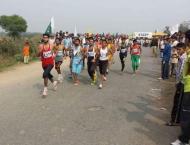 Fakhar Bashir wins Jashn-e-Azadi Marathon Race