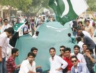 Independence Day celebrated in Sindh University