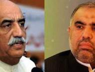 A cut-throat competition expected between Khursheed Shah, Asad Qa ..