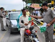 Motorway police make special arrangements for Independence Day