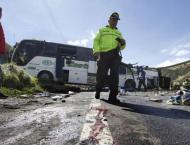 Bus accident in Ecuador kills 24