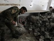 Blast Heard in Damascus as Result of Syrian Army Blowing Up Milit ..