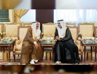 Nahyan bin Mubarak condoles Emir of Kuwait on death of Fariha Al  ..