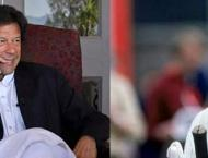 Australian cricketer Allan Border felicitates Imran Khan over pol ..