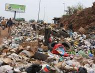 Approximately 700 tons of solid waste collection in federal capit ..