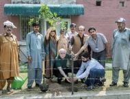 UVAS holds tree plantation activity to promote greenery at City C ..