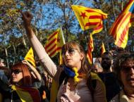 Catalan Independence Supporters Riot on Commemoration Day for 201 ..