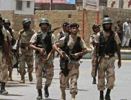 Pakistan Rangers Sindh arrest five suspects