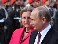 Austrian Foreign Minister Plans to Hold Talks With Putin at Her W ..