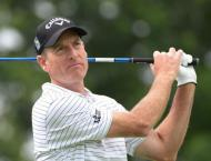 Leading second-round scores on Friday in the US PGA Tour Wyndham  ..
