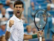 Djokovic to face Cilic as Cincinnati title dream draws closer