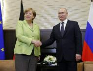 Russian President Vladimir to Meet With German Chancellor Angela  ..