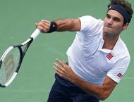 Federer strikes down fellow Swiss to reach Cincy semis