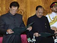 Imran Khan takes oath as PM ending decades of PTI, PML-N rule     ..