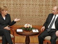 Putin Arrives in Berlin for Talks With Merkel