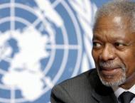 UN mourns ex-chief Kofi Annan as 'guiding force for good'