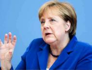 Merkel Expresses Hope for Complete Ceasefire in Ukraine by Start  ..