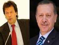 Erdogan felicitates Imran Khan, wishes success