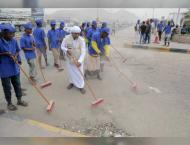 ERC launches clean-up campaign in Mukalla, Yemen